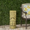 """24"""" Cast Stone Saguard Polynesian Planter Antique Green - Christopher Knight Home - image 2 of 4"""