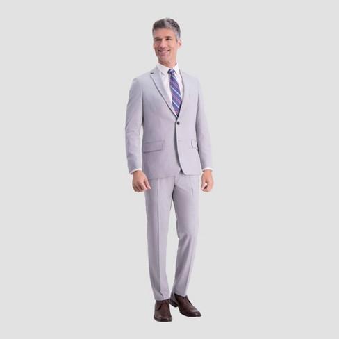 Haggar H26 Slim Fit Premium Stretch Suit Jacket - Light Gray - image 1 of 2