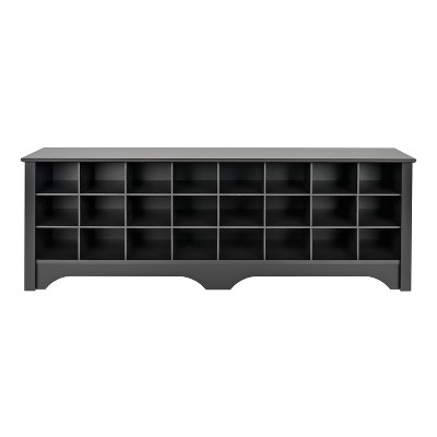 "60"" Shoe Cubby Bench - Prepac"