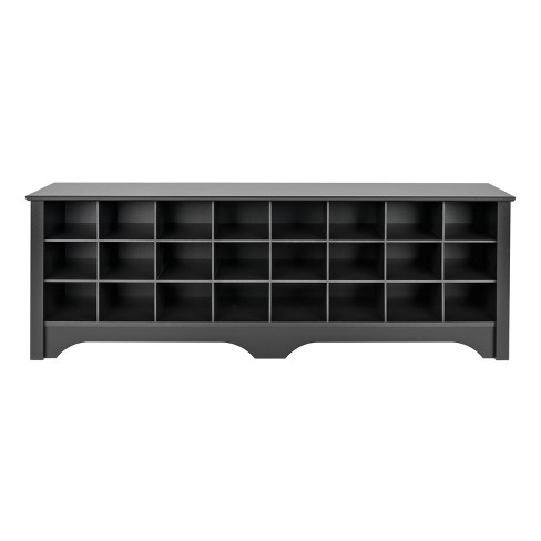 """60"""" Shoe Cubby Bench - Prepac - image 1 of 4"""