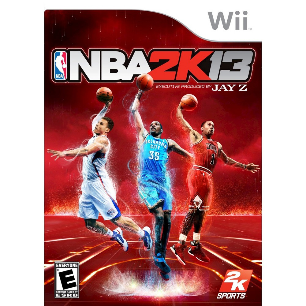 NBA 2K13 Nintendo Wii, video games