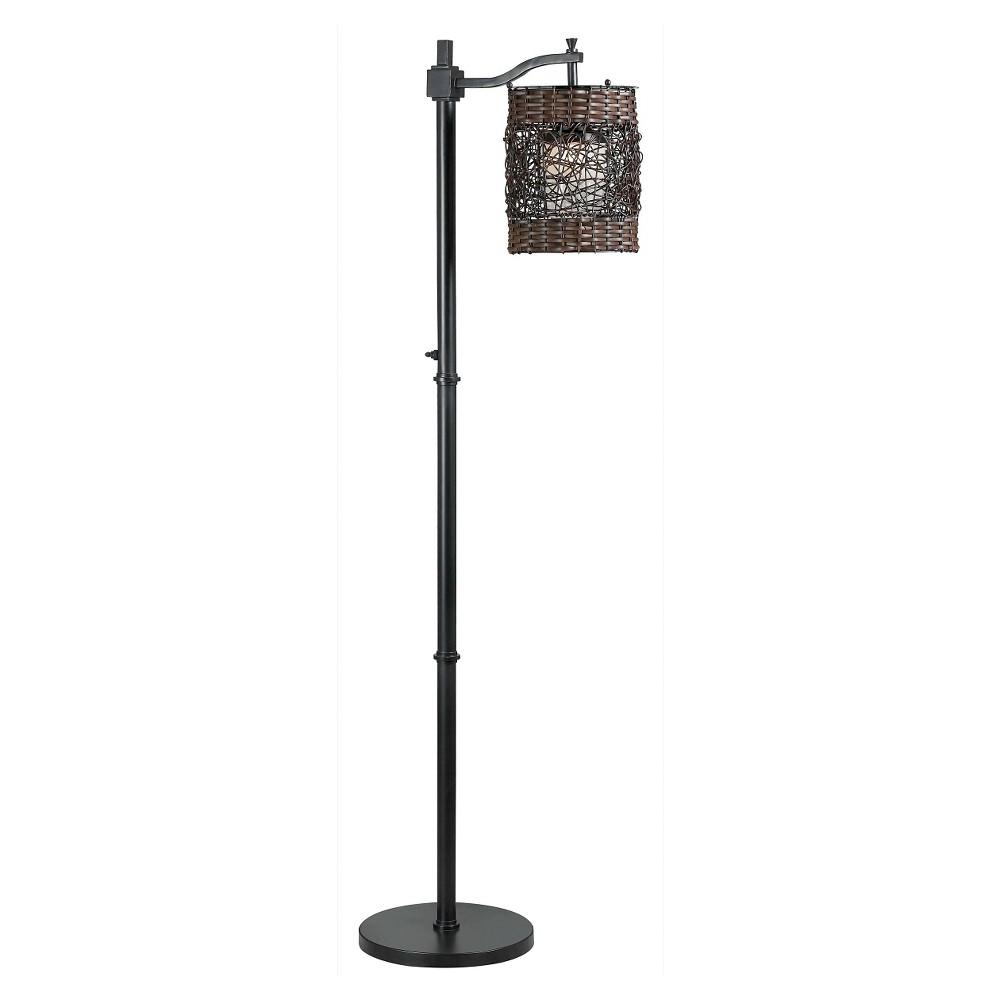 Brent Outdoor floor lamp, Bronze