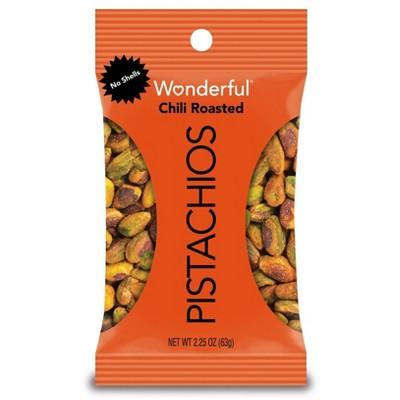 Wonderful Pistachio No Shells Chili Roasted - 2.25oz