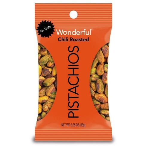 Wonderful Pistachio No Shells Chili Roasted - 2.25oz - image 1 of 4