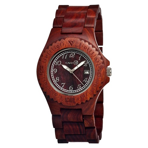 Men's Earth Wood Phloem Watch with Luminous Hands - image 1 of 3