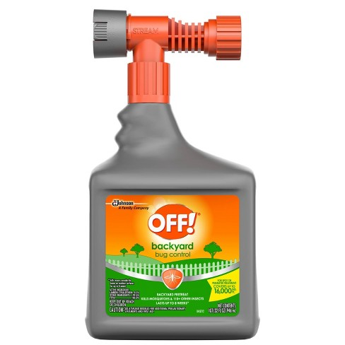 OFF! Backyard Pretreat Bug Control Spray - 32oz/1ct - image 1 of 4