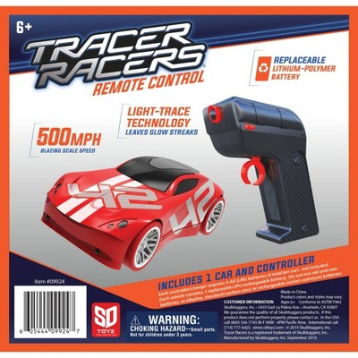 SKULLDUGGERYTracer Racer RC Car and Controller - Red