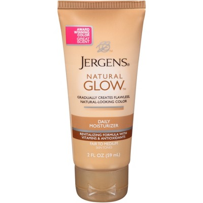 Body Lotions: Jergens Natural Glow Daily Moisturizer