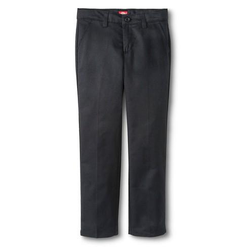 Dickies® Girls' Slim Fit Flat Front Pants - image 1 of 3