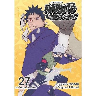 Naruto Shippuden: Box Set 27 (DVD)(2016)