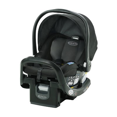 Graco SnugRide SnugFit 35 Infant Car Seat with Anti-Rebound Bar - Gotham