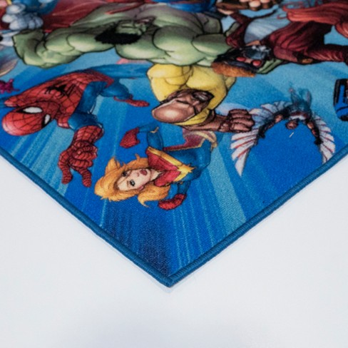 Large Marvel Rug Uniquely Modern Rugs