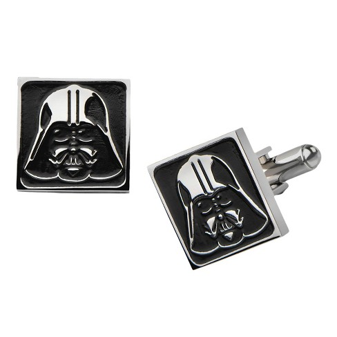 Men's Star Wars Darth Vader Stainless Steel Square Cufflinks - image 1 of 1