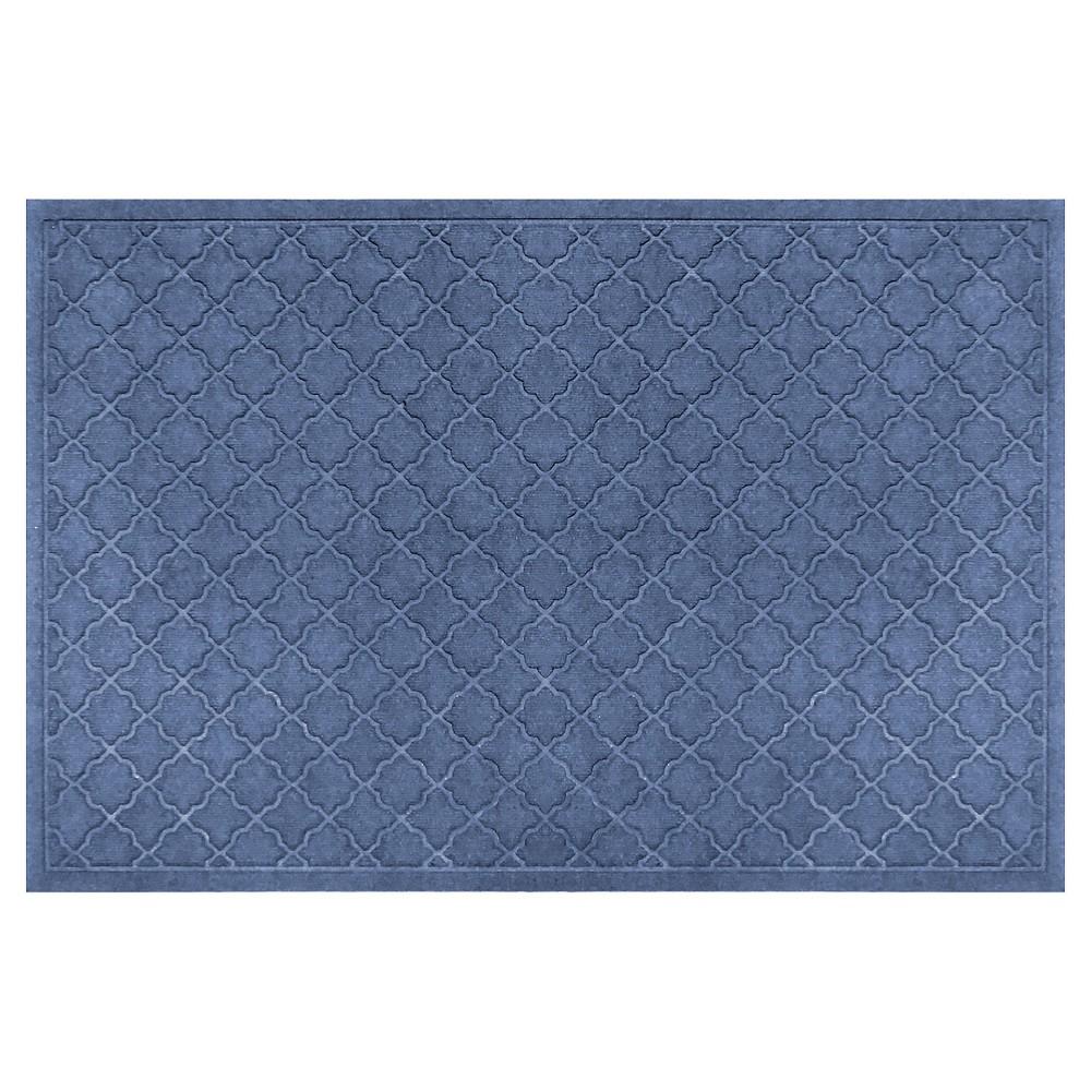 Navy (Blue) Solid Doormat - (3'X5') - Bungalow Flooring