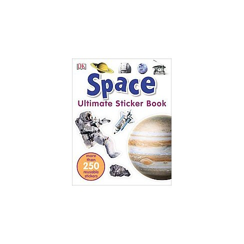 Ultimate Sticker Book: Space - (Paperback) - image 1 of 1