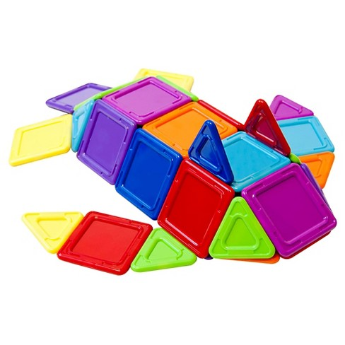 Magformers Opaque Rainbow 40 PC Set - image 1 of 4