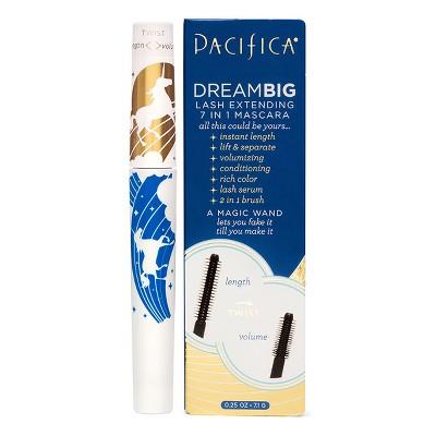 Pacifica Dream Big Lash Extending 7 in 1 Black Magic Macara  - 0.25 fl oz