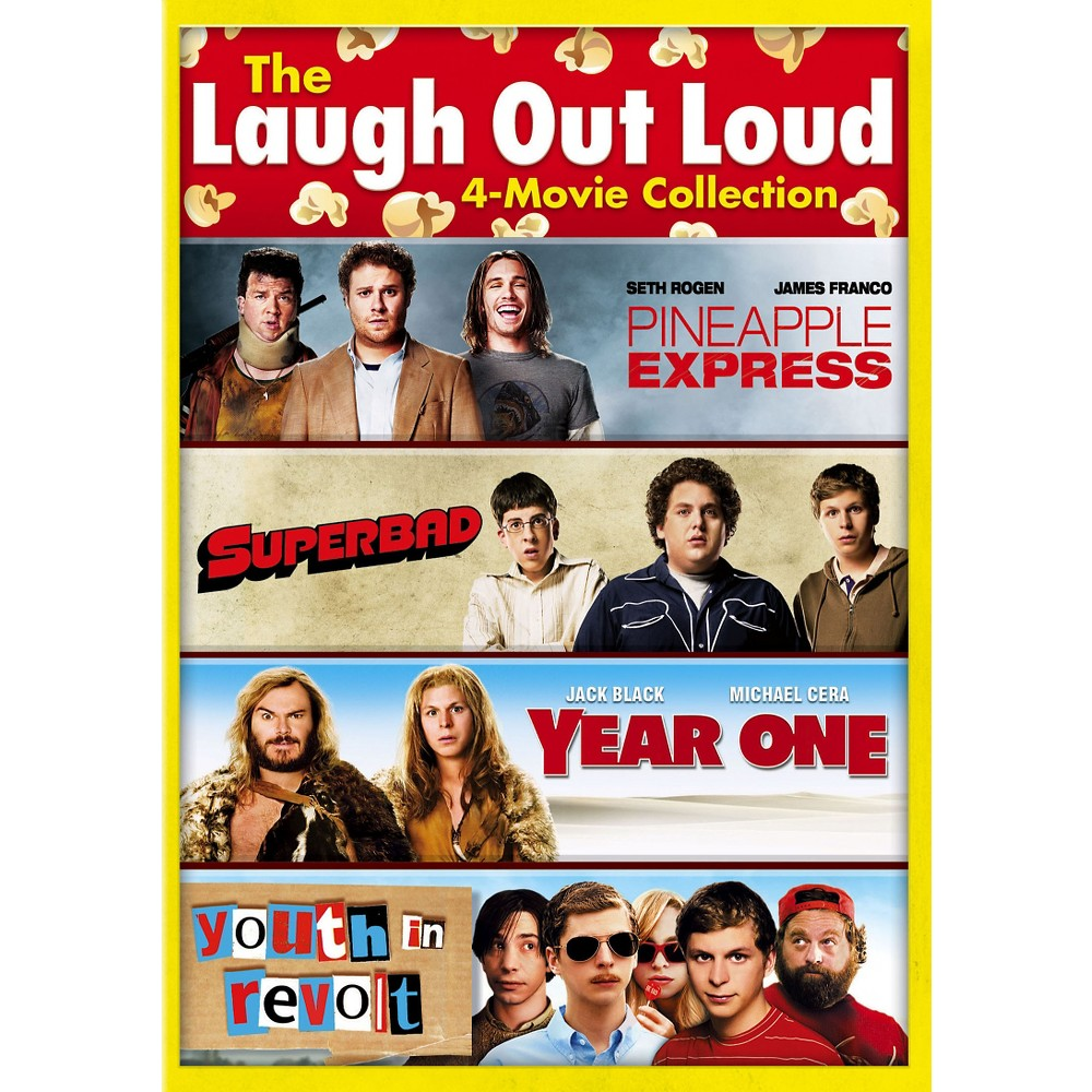 The Laugh Out Loud 4-Movie Collection [3 Discs]