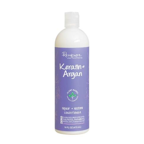 Renpure Keratin & Argan Repair + Restore Conditioner - 16 fl oz - image 1 of 4