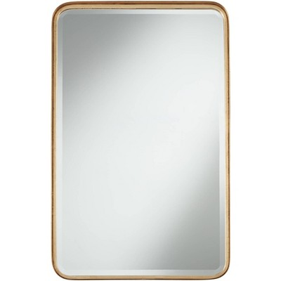 "Uttermost Andi Gold 24"" x 38 1/4"" Rounded Edge Mirror"
