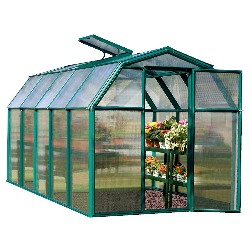 6' x 10 Eco Grow 2 Twin Wall - Forest (Green) - Rion
