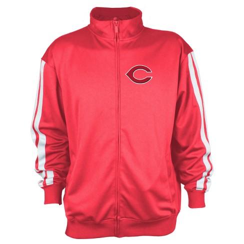 Cincinnati Reds Men's Zip-Up Track Jacket - XXL - image 1 of 2