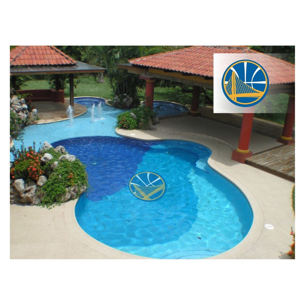 NBA Golden State Warriors Large Pool Decal