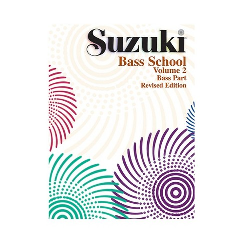 Alfred Suzuki Bass School Volume 2 (Book) - image 1 of 1