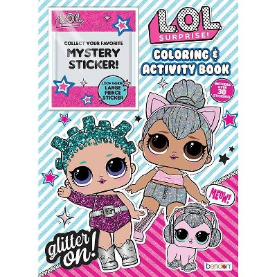 LOL Surprise Mystery Sticker Book - Target Exclusive Edition
