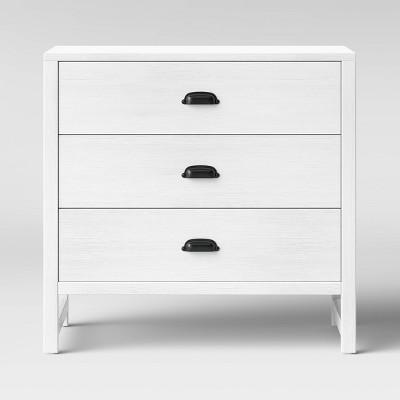 Davinci Fairway 3-Drawer Dresser - Cottage White