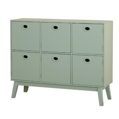 Liana Six Storage Cabinet Mint - Buylateral
