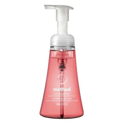 Method Pink Grapefruit Foaming Hand Soap - 10oz