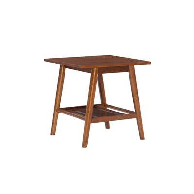 Charlotte End Table Brown - Linon