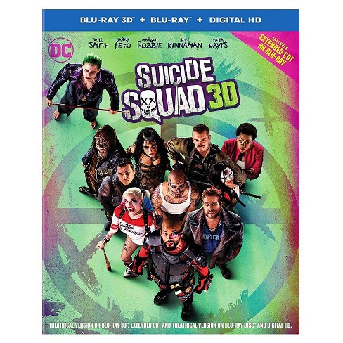 Suicide Squad (3D + Blu-ray + Digital) - image 1 of 1