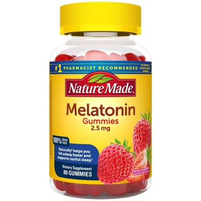 Sleep Aids: Nature Made Melatonin Gummies