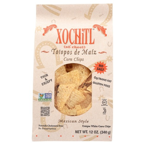 XOCHiTL® Totopos De Maiz Mexican Style Corn Chips - 12oz - image 1 of 3