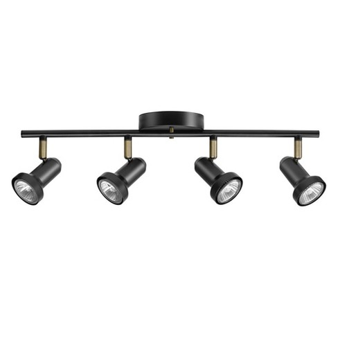"Globe Electric 59443 Melo 4 Light 20"" Wide Fixed Rail Linear Ceiling Fixture - image 1 of 1"