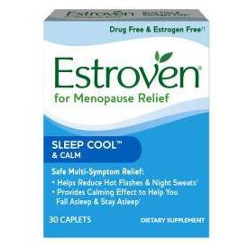 Vitamins & Supplements: Estroven Menopause Relief + Sleep