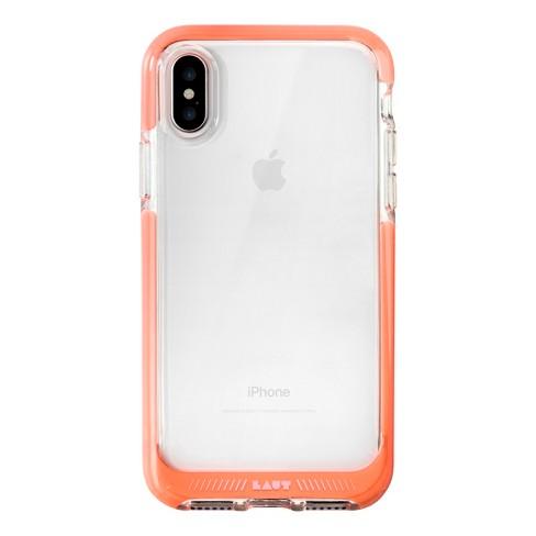 online retailer fbb2e 960ec LAUT iPhone X Case Fluro - Pink