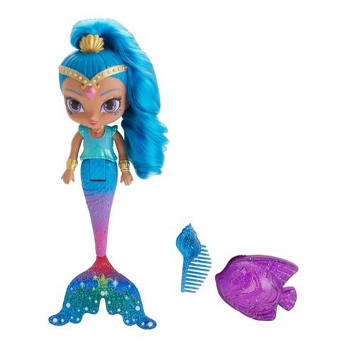 Fisher-Price Shimmer and Shine Rainbow Zahramay Mermaid Shine Bath Doll - image 1 of 7