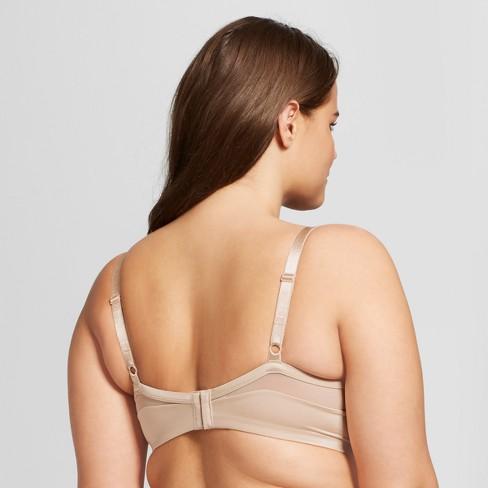 dd180c36e6 Beauty By Bali Women s Just My Size™ Mesh Foam T-Shirt Bra - Soft Taupe 40D    Target
