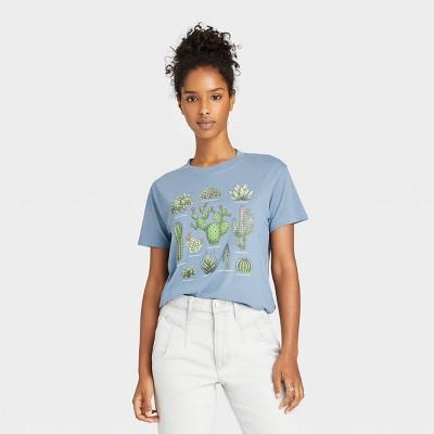 Women's Cactus Short Sleeve Graphic T-Shirt