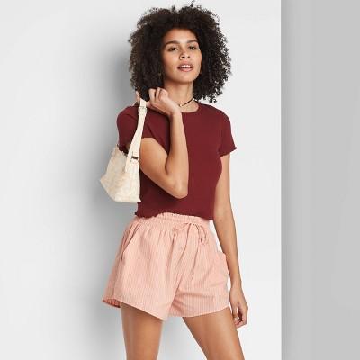 Women's Drawstring Comfort Shorts - Wild Fable™