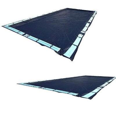2) New Swimline 18x36 Dark Blue Winter Rectangular Inground Pool Covers