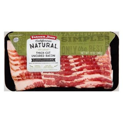 Farmer John Natural Bacon - 12oz