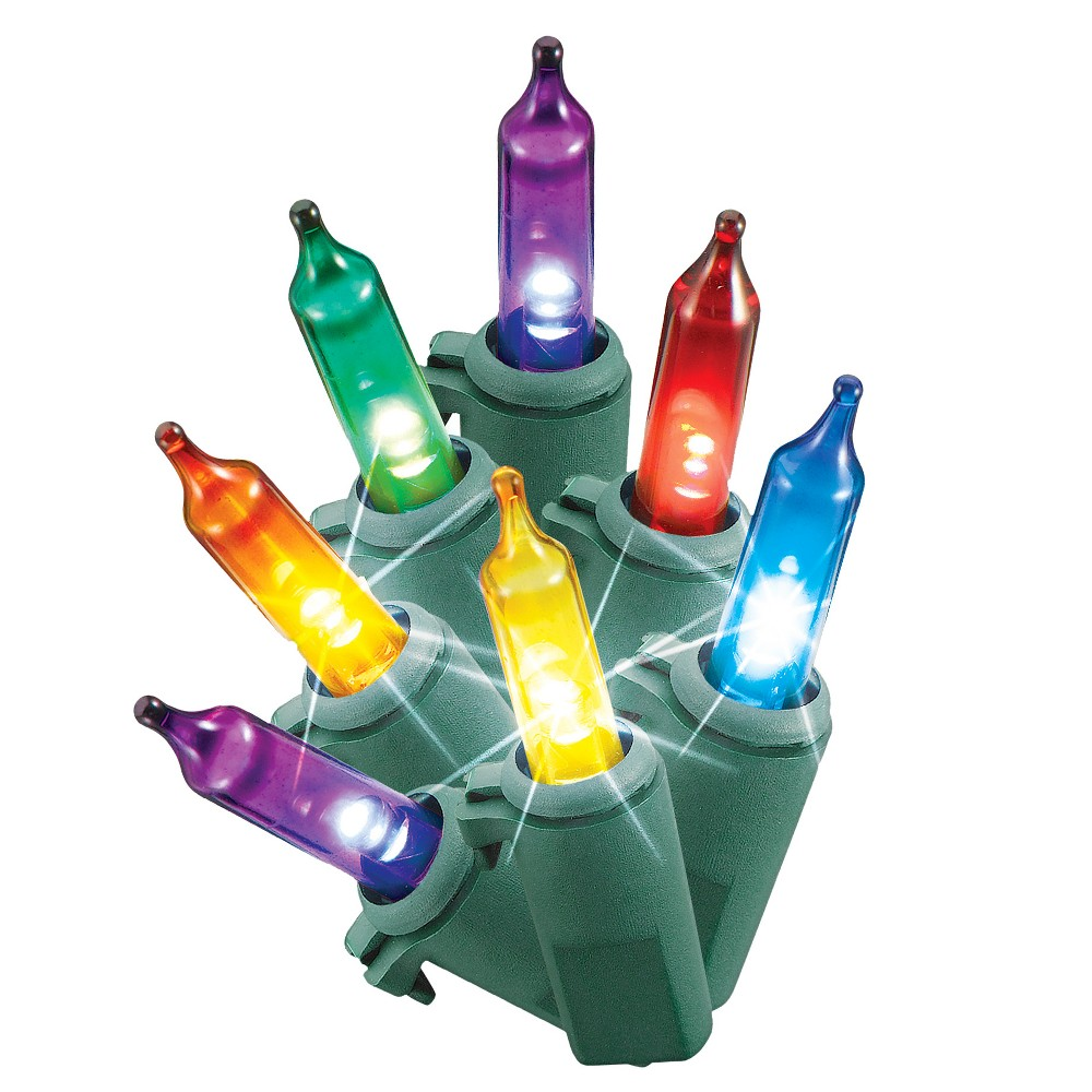 Image of Philips 200ct Christmas LED Smooth Mini String Lights Twinkle