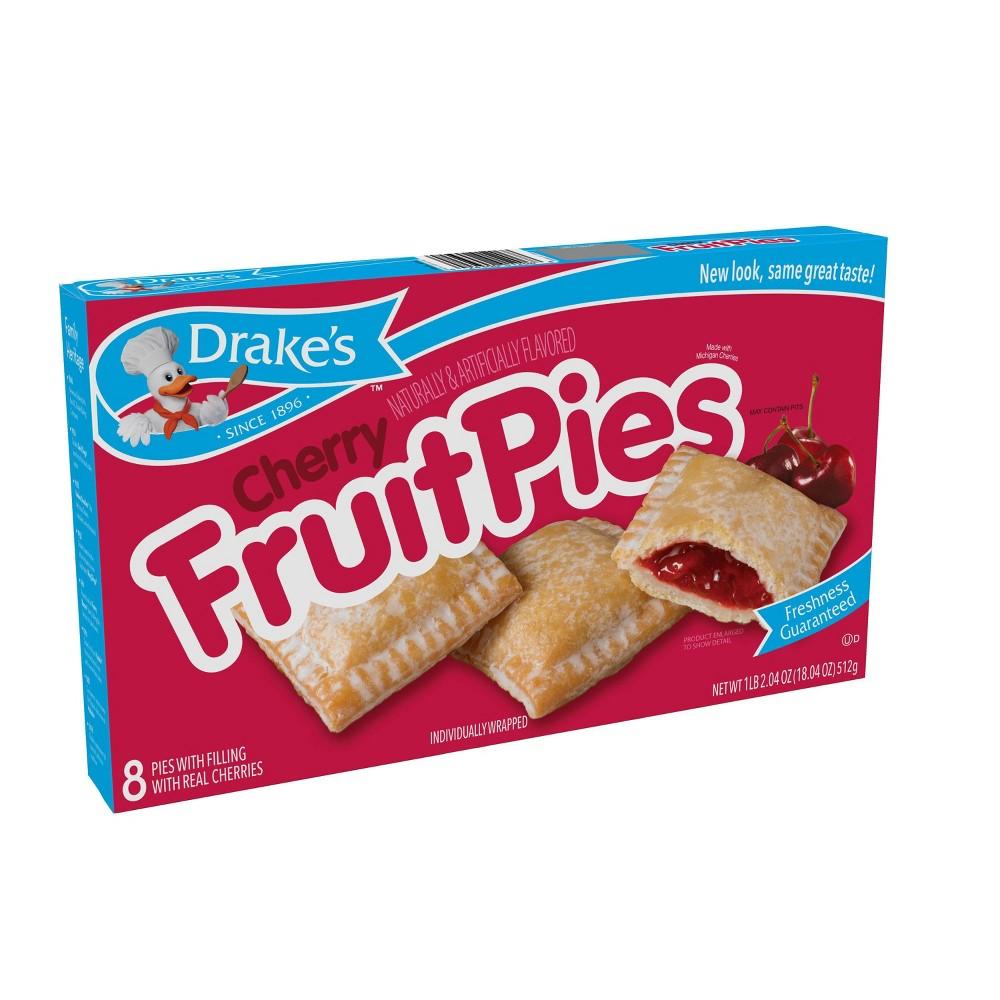 Drake 39 S Cherry Fruit Pies 8ct 18 04oz
