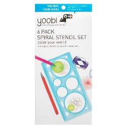 Yoobi™ Stencil Kit with Pens