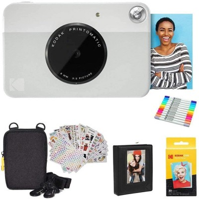 KODAK Printomatic Digital Instant Print Camera Starter Bundle