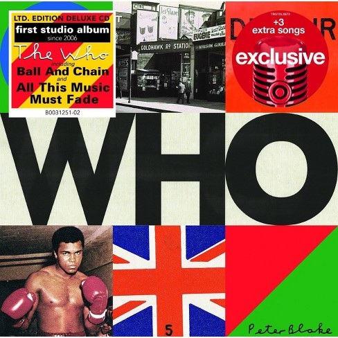 The Who - WHO (Target Exclusive, CD) - image 1 of 1